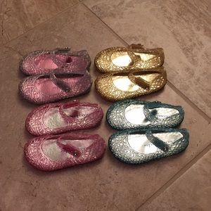 Koala Kids Jelly Shoes (4 pairs), Toddler 6